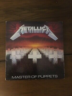 Metallica Master Of Puppets Edition Limited  Uk 1987 First Press , Vg++