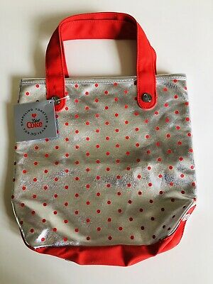 Limited Edition Marc Jacobs COCA COLA Tote Bag Red & Silver RARE Diet Coke 30th