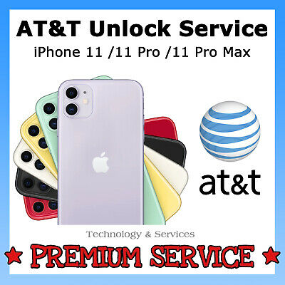 ✅ PREMIUM AT&T ATT FACTORY UNLOCK ✅ For Apple iPhone 11| 11 PRO | 11 PRO MAX ✅