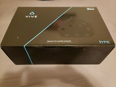 HTC Vive Virtual Reality Complete System in box