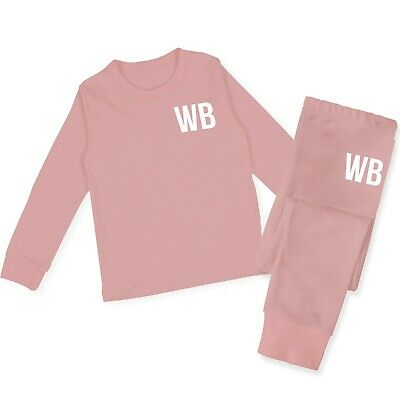 Personalised Baby Tracksuit Kids Toddler  Lounge Wear Personalised Gifts TR3