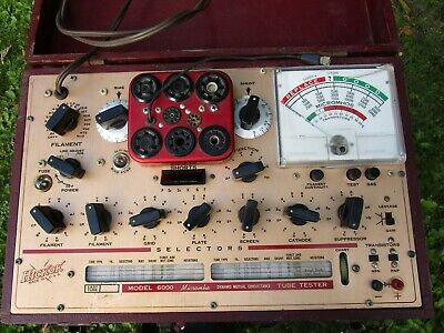 (1)  Hickok Dynamic Mutal Conductance Tube Tester  Model 6000