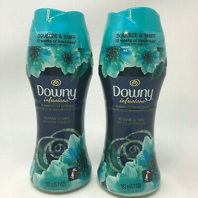 Pack of 2 - Downy Infusions In-Wash Botanical Mist Scent Booster 5.7 Fl oz