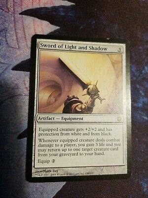 1x Sword of Light and Shadow - Darksteel - MTG Magic the Gathering