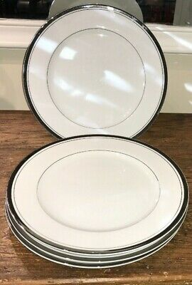 Wallace Heritage Japan Fine Porcelain China Newport Set Of 4 Dinner Plates
