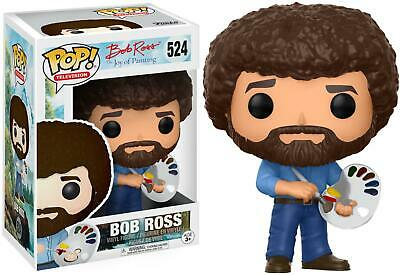 Bob Ross TV - Bob Ross Painting Funko Pop! Animation #524 - New in Box