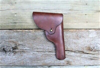 WWII US .38 Caliber Smith & Wesson Victory Revolver Holster