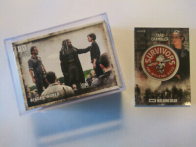 Topps Walking Dead Season 8 Complete Set 1-100 With Free Patch Card
