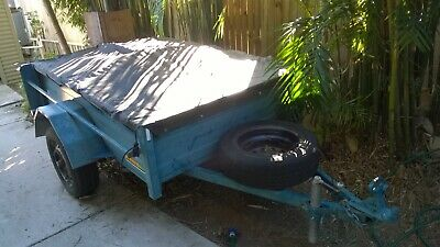 6 x 4 Trailer with Spare