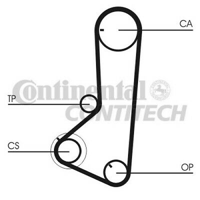CT836 CONTITECH TIMING BELT (Mitsubishi L200 2.4 4x4 96-) NEW O.E SPEC!