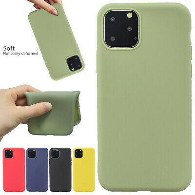 For Apple iPhone 11 Pro Max Case Soft Gel TPU Rubber Silicone Ultra Thin Cover