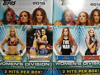 2019 Topps WWE Women's Division (1-100) COMPLETE YOUR SET - YOU PICK FROM LIST