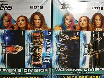 2019 Topps WWE Women's Division Women's Evolution - YOU PICK FROM LIST