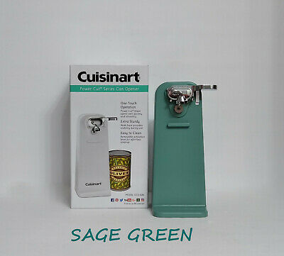 New Sage Green Cuisinart Tall Electric Can Opener, Sage Green Appliances