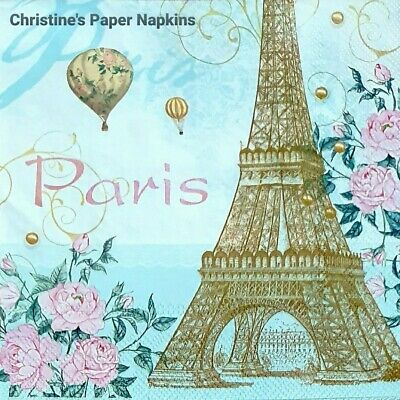 2x Paper Napkins for Decoupage/Decopatch/Craft