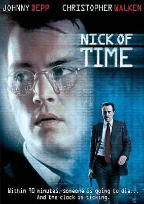 NEW !! Nick of Time (DVD, 2006 Bilingual , Johnny Depp Factory Sealed