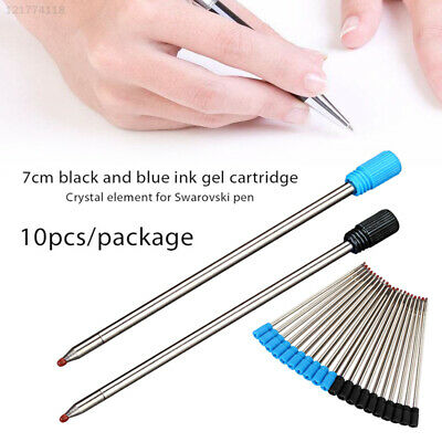 B8BA 7cm Ball Pen Refill Writting Accessories Professional Pen Refills