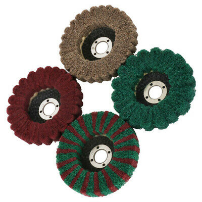 For Angle Grinder Flap disc Sanding Tool Abrasive Grinding Buffing 100mm