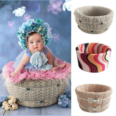Round Shape Posing Baskets Universal for Newborn Baby Photography Props Useful