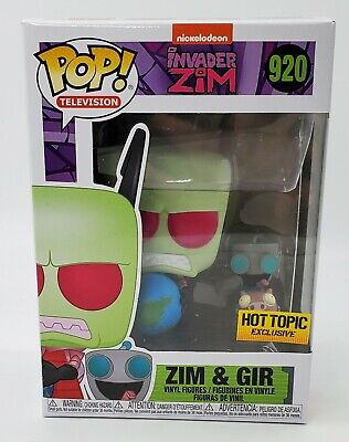 Funko Pop Animation Invader Zim & Gir Hot Topic Exclusive BRAND NEW PREORDER