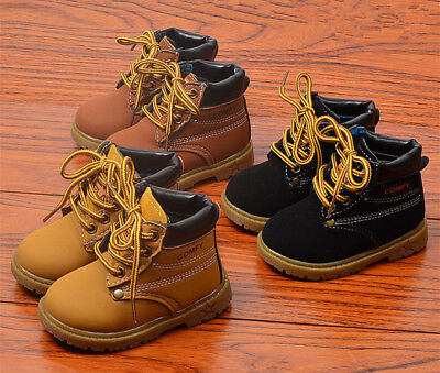 2019 Winter Toddler Baby Boots Kids Boys Girls Martin Boots Shoes Children Boots
