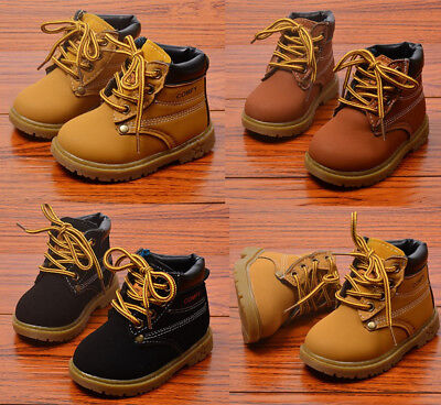 2019 Baby Infants Boots Fashion Kids Boy Girl Martin Boots Shoes Children Boots