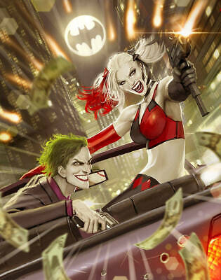 Harleen #2 (Of 3) Sejic Variant Dc Comics Black Label Joker Harley Quinn Batman