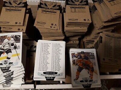 2019-20 UD O-Pee-Chee OPC Base Set Single 1-250 UPick from list lot O Pee Chee