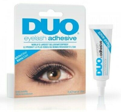 EYE-DUO Eyelash Glue Adhesive Strong 9g Clear/Black Waterproof False Eyelashes