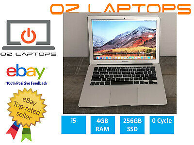 MacBook Air 13 inch i5 4GB 256GB SSD 0 Cycles