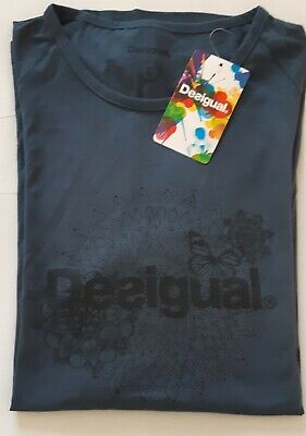 Tee Shirt Femme Desigual Manches Longues Taille 40 Eur 15