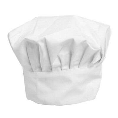 Chefs Tall Hat School Restaurant Baking Cooking Tall Cap Breathable Cap #NR7