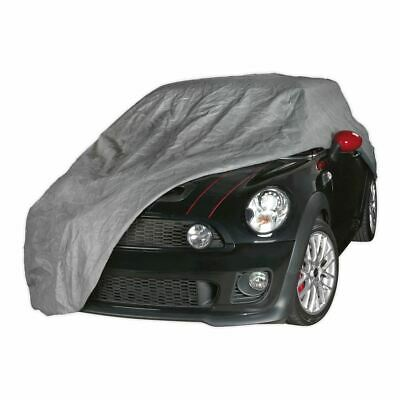 Sealey All Seasons Car Cover 3-Layer - Small SCCS