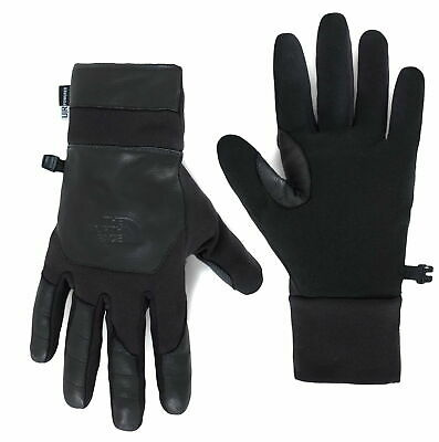 The North Face Etip Leather Glove In TNF Black
