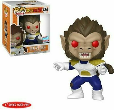 Funko Pop Dragon Ball Z GREAT APE VEGETA NYCC Limited Edition Figure #434 in box