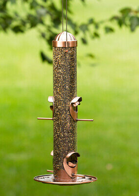 Opus 2-In-1 Bird Feeder With Copper Finish