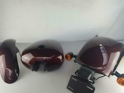 Harley Davidson Softail BREAKOUT M8 Lacksatz/ Painted Parts Twisted Cherry