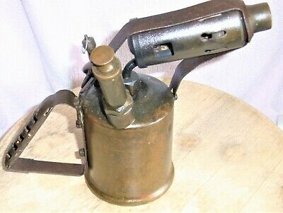 "Vintage 1930/40's"" Buflam ""Brass  Blowtorch (1 Pint) Rare English Maker"