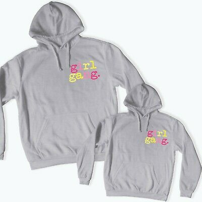 Mother & Daughter Matching Girl Gang Hoodies Personalised Mother's Day Gift 176