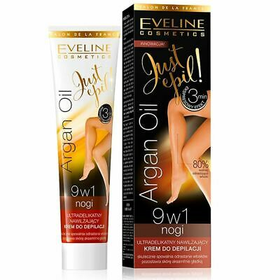 Eveline Just Epil 9-in-1 Ultra Gentle Hair Removal Cream 125ml Exp. Date 11.2019