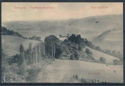 [1092] Embourg CPA - Tournant des Forts - Vue vers Tilff