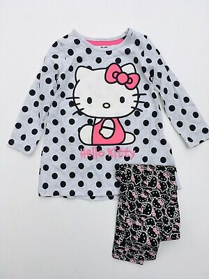 M&S 2 Piece Hello Kitty Dress & Leggings Set  Age 12-24 Months 2-3 Years RRP £14