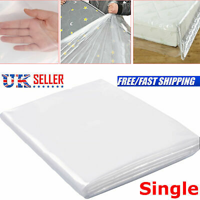 Single  Bed Mattress Bag Heavy Duty Dust Protector Storage Cover 400 GAUGE