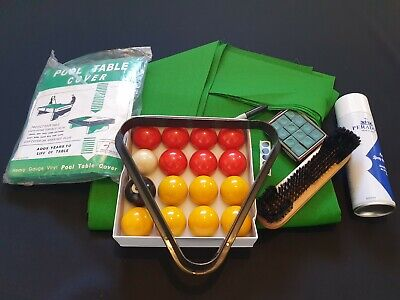 Pool Table Recovering Kit. Fully Loaded  Pro Speed Cloth