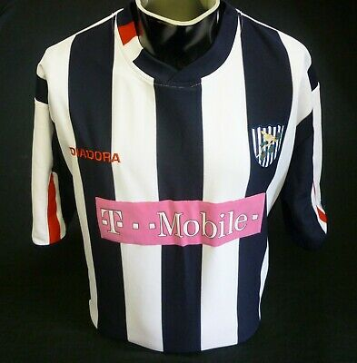 West Bromwich Albion Football Shirt Home 2004/05 Diadora Size XL Great Condition