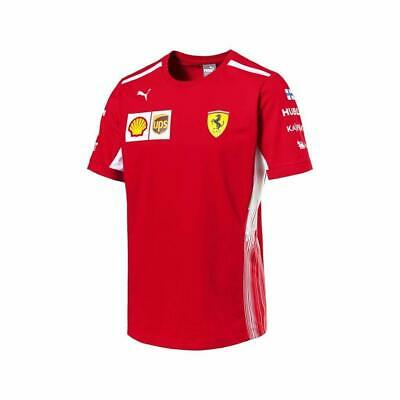 NEW Mens Scuderia Ferrari F1 Team T Shirt Red Formula One Size M Official Kimi