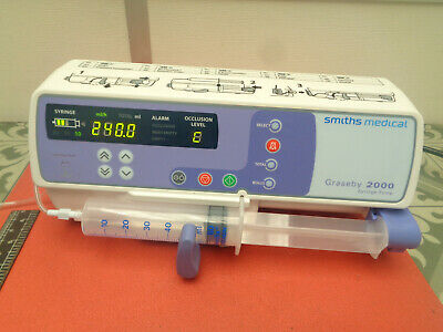 Smiths medical Graseby 2000 syringe infusion pump 240v S10APM2