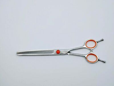 """Bonika Auddy 7.5"""" Even Handle 50 Tooth Thinning Pet Grooming Shear"""