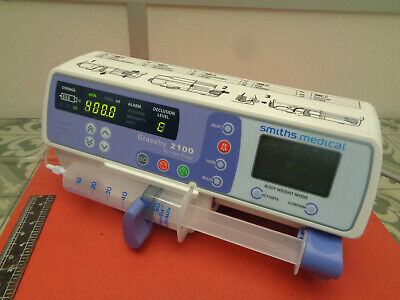 Smiths medical Graseby 2100 syringe infusion pump 240v S10N734K