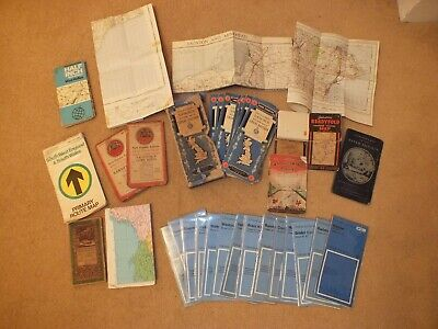 Collection of Vintage Maps Ordnance Survey Bartholomews West Country Bristol